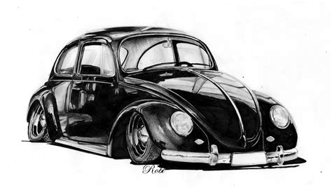 old volkswagen drawing vw beetle by ribadesign on deviantart