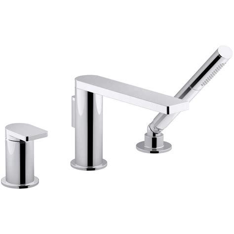 kohler composed single handle deck mount roman tub faucet