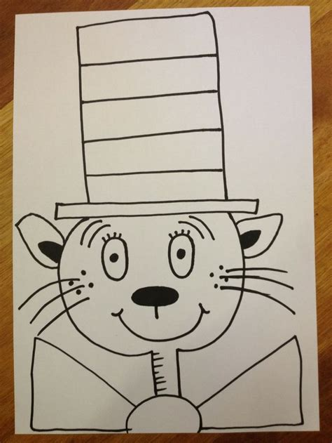 doodle cat how to make a hat 464 best images about dr seuss on earth day