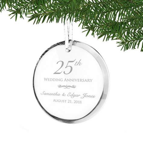 Ee  Th Ee   Wedding Anniversaryalized Acrylic Ornament