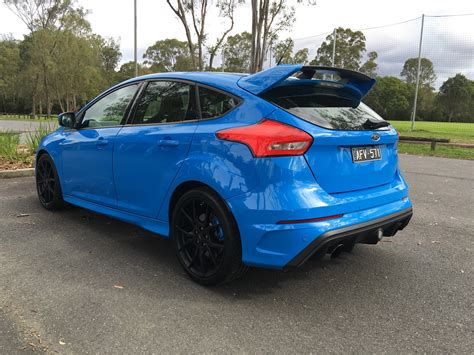 Ford Focus by 2017 Ford Focus Rs Review Photos Caradvice