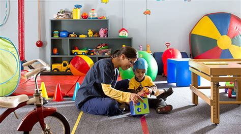 Google Office Playroom occupational therapy at floating hospital for children