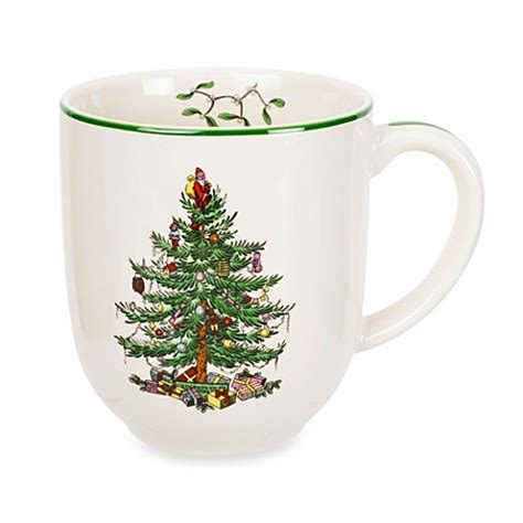 buy spode 174 christmas tree caf 233 mug from bed bath beyond