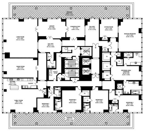 manhattan apartment floor plans penthouse apartments penthouses penthouses apartments and house
