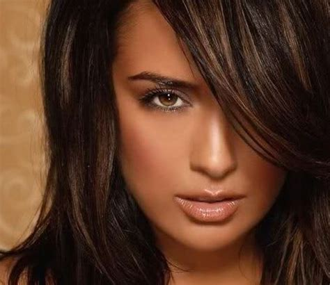 haire color that goes with brown eyes hair color ideas for brunettes funky with highlights