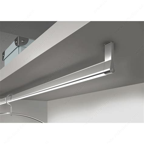 Led Closet Rod by Led Goccia Designer Closet Rod 12v Richelieu Hardware