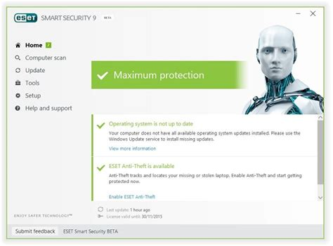 Software Antivirus Eset Nod32 Smart Security 10 3 Pc 2 Tahun Terlaris eset smart security 9 y nod32 antivirus 9 disponible la versi 243 n beta tuexperto