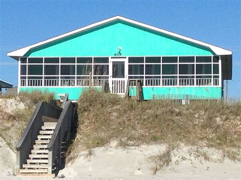 pet friendly 4 br 2 ba oceanfront in topsail with