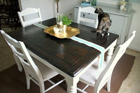 refinished table kitchen colors the o