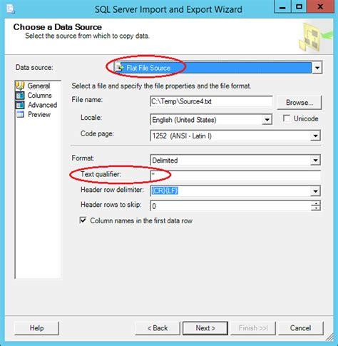 format file for csv bulk insert sql server 2012 express bulk insert flat file 1million