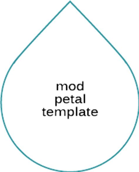 petal placement template mod petal pillows giveaway oh my violet craft