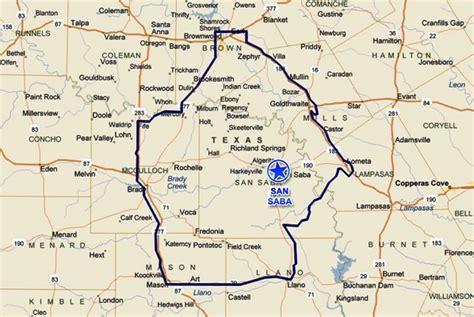 san saba texas map opinions on san saba texas