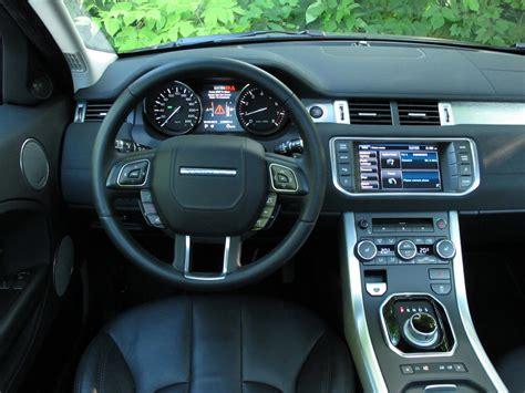 Evoque Coupe Interior 2013 range rover evoque coupe review cars photos test