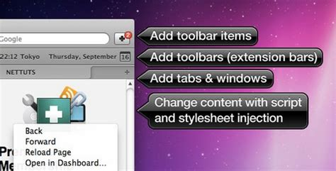 Calendar Extension Safari How To Create A Safari Extension Using Extension Builder