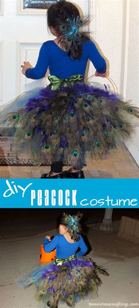 Handmade Peacock Costume - 17 best ideas about kid costumes on