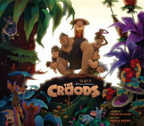 film cartoon the croods un mucchio di concept art per i croods il nuovo cartoon