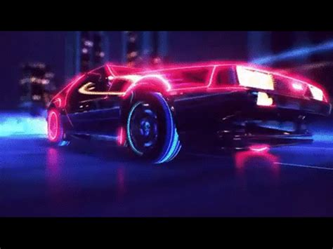car wallpaper gif awesome 80s gif find on giphy