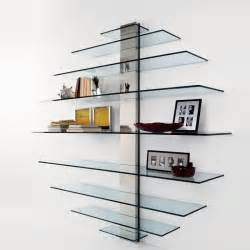 glass wall shelf glass wall shelving units wall mounted