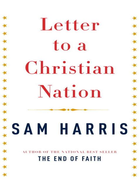letter to a christian letter to a christian nation new york public library overdrive