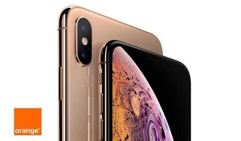 estos los precios de los iphone xs y xs max con orange