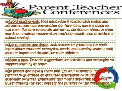 thank you letter to parents after conferences parent conference