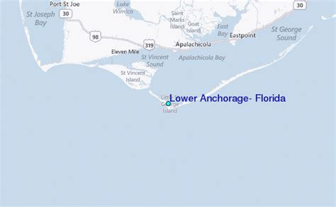Anchorage Tide Table by Lower Anchorage Florida Tide Station Location Guide