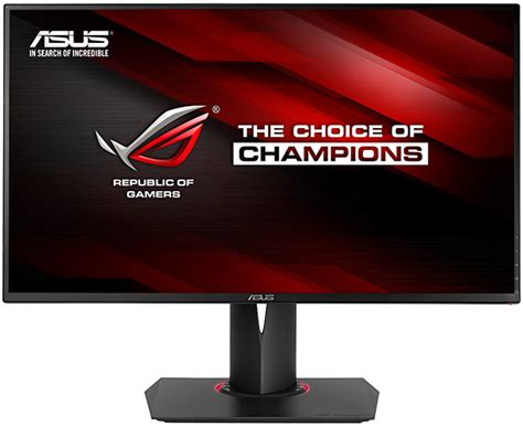 Monitor Gaming Asus asus ips gaming monitors come in 120hz 4k g sync flavors the tech report