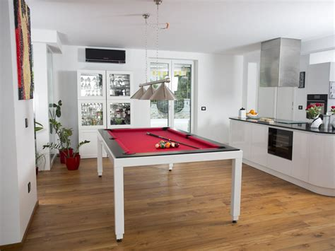 fusion tables steel pool table fusiontables metal line dining pools by