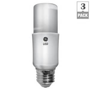 Bright Led Light Bulbs Ge 60w Equivalent Daylight General Purpose Led Bright Stik Light Bulb 3 Pack Led10s3 5k 96
