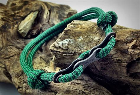 Highest Quality Kitchen Knives paracord bracelets with bike chain links
