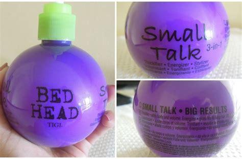 bed head small talk tigi bed head small talk 3 in 1 review