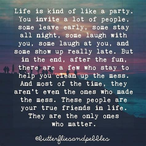 biography exle of a friend life is kind of like a party people come others bail