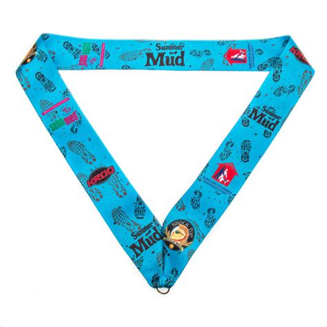 Printed Sports medal ribbons for sale personalized printed sports medal