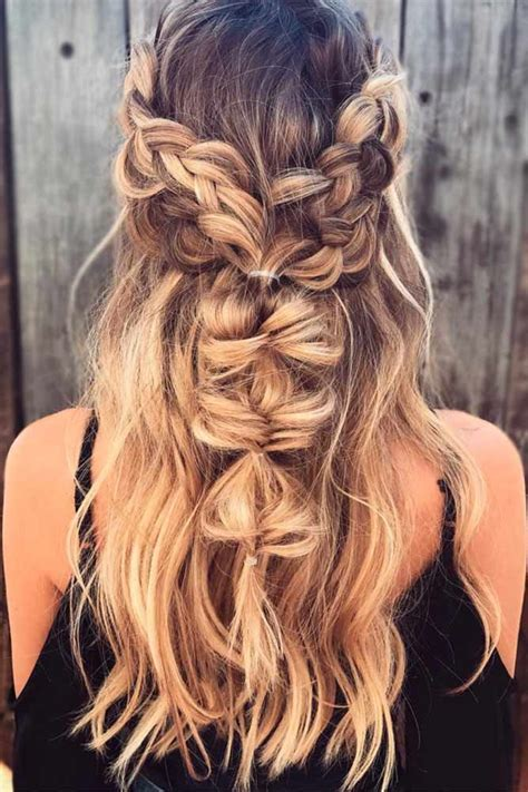bohemian hairstyle ideas that you will fall in with fashionsy
