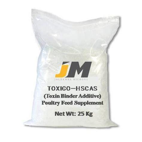 Toxin Binder toxin binder hscas packaging type pp woven bag rs 3 7