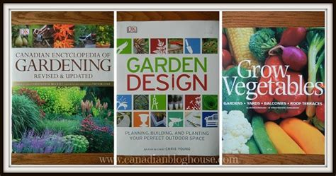 planting gardens in books canadian gardening dk canada books