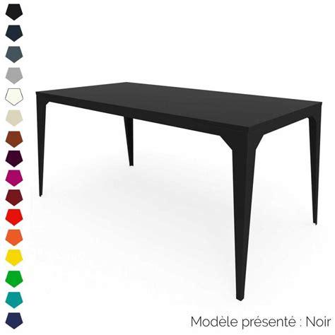 table metal exterieur table rectangulaire en m 233 tal personnalisable d int 233 rieur