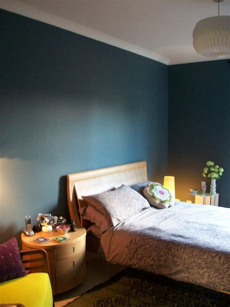 dulux blue walls bedroom steel symphony 1 blue with greyish tones less blue than in photo