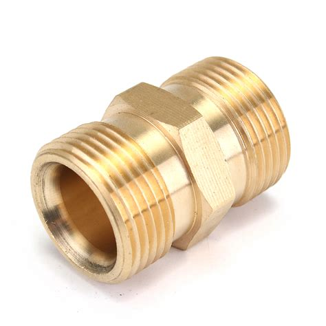 washer hose adapter m22 brass pressure washer adapter male to male hose