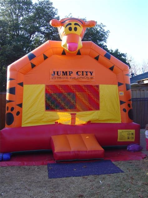jump houses tigger bounce house jump houses dallas