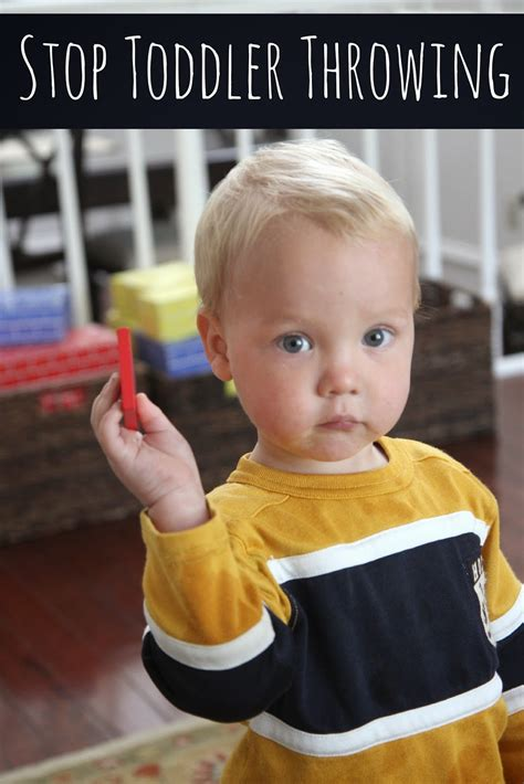 What Do You Need To Throw A Baby Shower by Toddler Approved How Do I Stop Toddler From Throwing