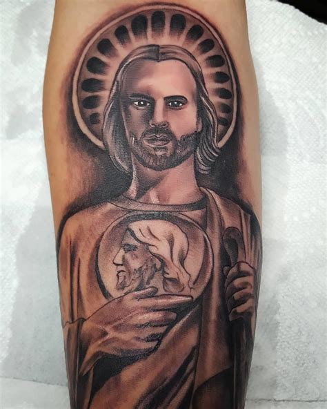 san judas tadeo tattoo san judas tadeo ideas