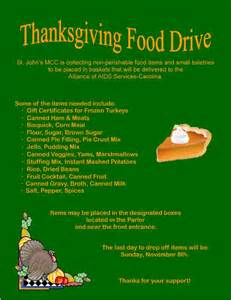 list of thanksgiving foods thanksgiving food drive list images amp pictures becuo
