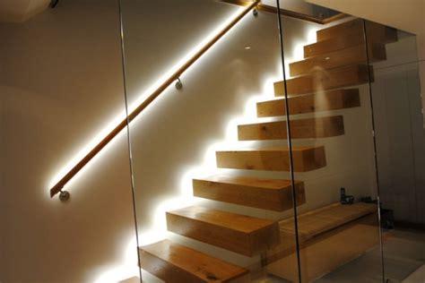 properly  light   indoor stairway
