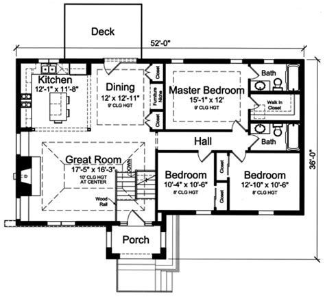 house plans with bi level split foyer by studer