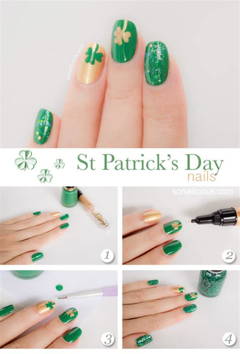 Easy Nail Art St | st patrick s day nail designs fashion beauty news