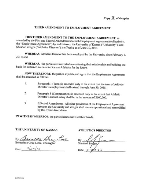 2013 Amendment Images Frompo Coaching Terms And Conditions Template
