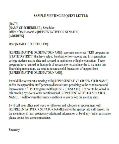 formal request letter templates ms word