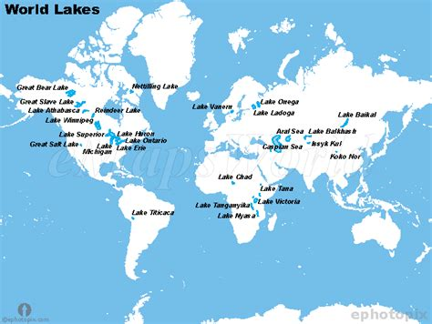 world map of seas and lakes learning about our world map of the world s great lakes