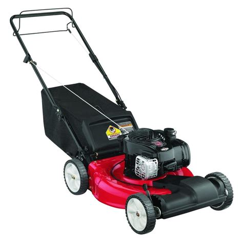 yard machines 21 in 140cc ohv briggs stratton self
